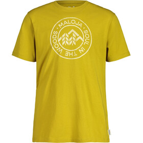 Maloja RotbirneM. SS T-Shirt Men, golden fall
